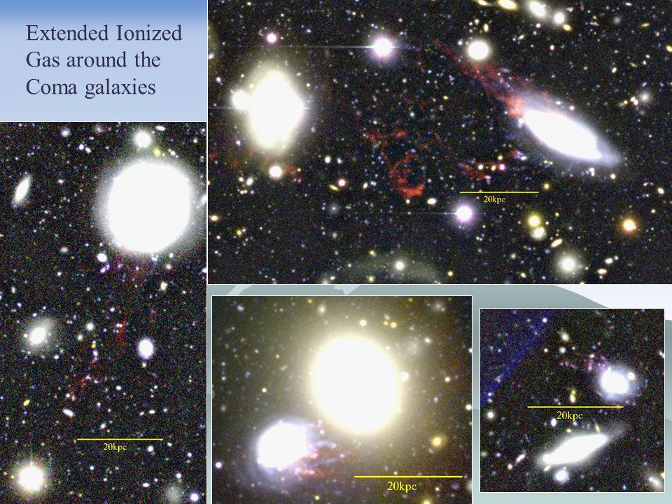 Fireballs star background galaxies Member galaxy ? background galaxy