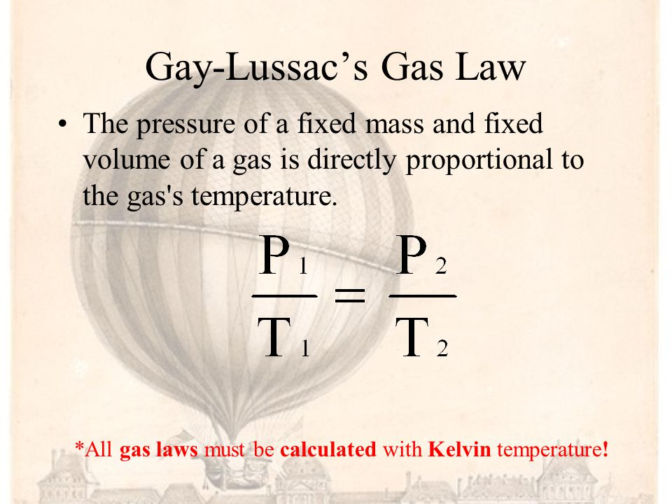 Gay-Lussac Joseph Louis Gay-Lussac was a French chemist and physicist. He is known mostly for two laws related to gases, and for his work on alcohol-w