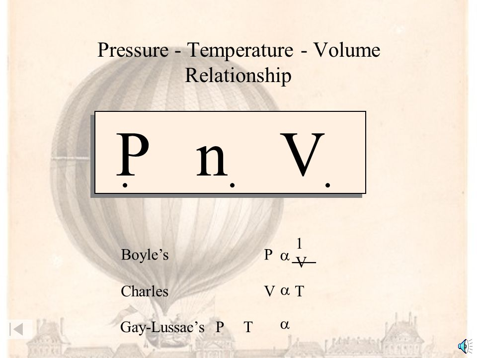 Example: A sample of a gas at 15°C and 2.0 atm has a volume of 2 mL.