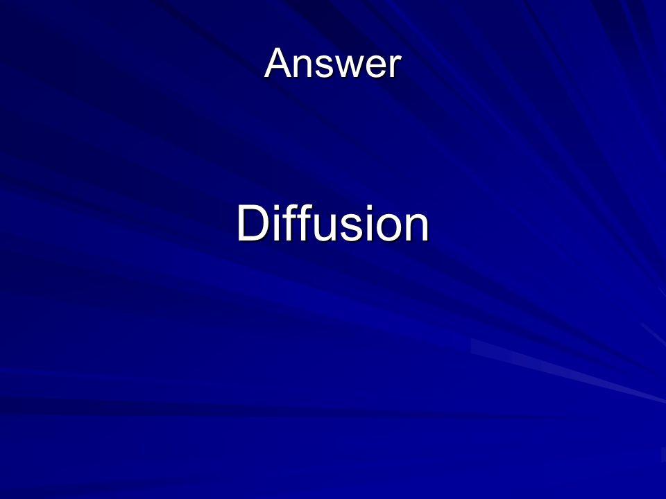 Answer Diffusion