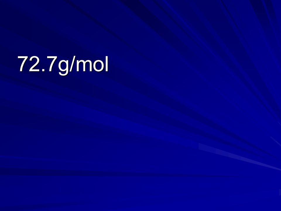 72.7g/mol