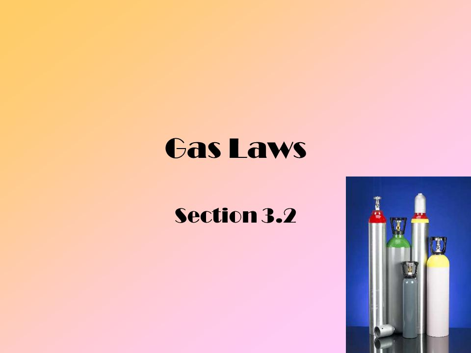 Gas and Pressure Pressureresult of force distributed over an area
