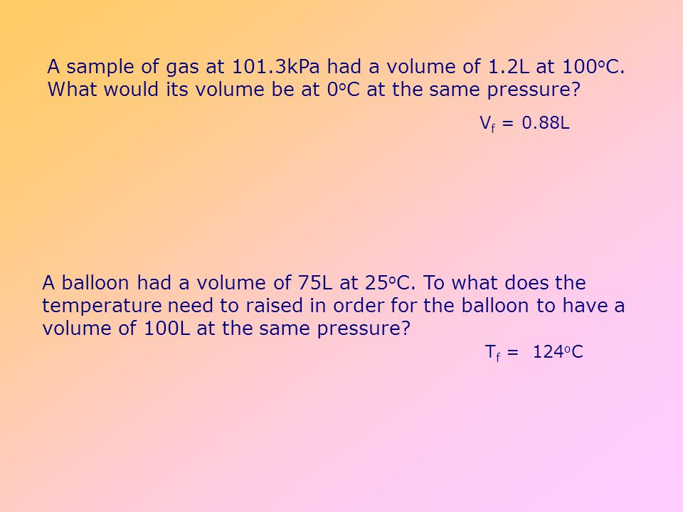 Boyles Law Robert Boyle Collected data on pressure and volume