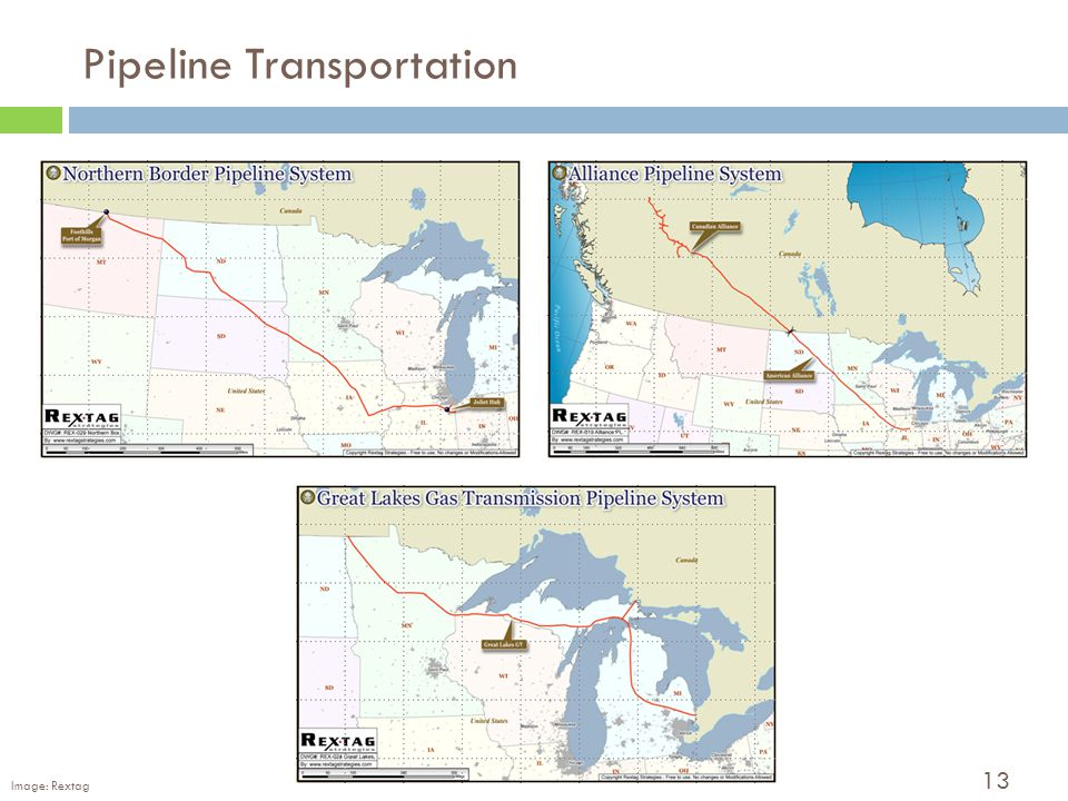13 Pipeline Transportation Image: Rextag