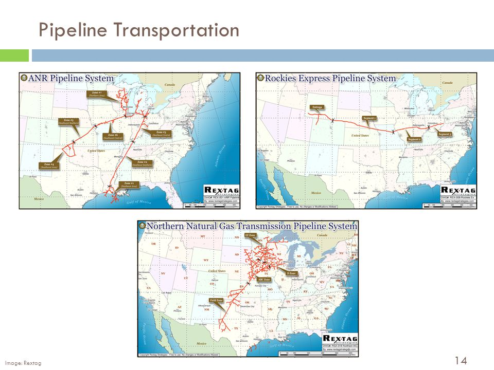 14 Pipeline Transportation Image: Rextag