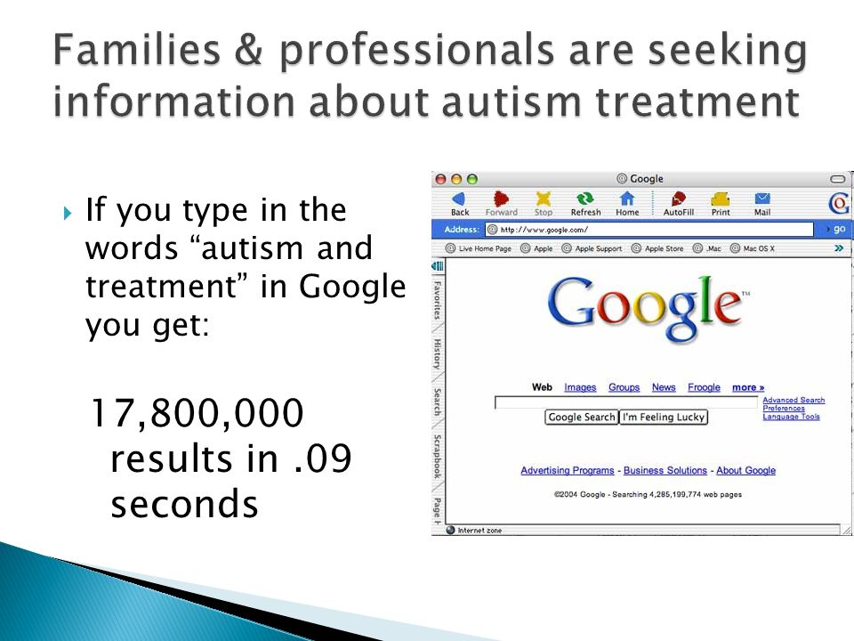 The National Professional Development Center on Autism Spectrum Disorders is a multi-university center to promote the use of evidence-based practice for children and adolescents with autism spectrum disorders.