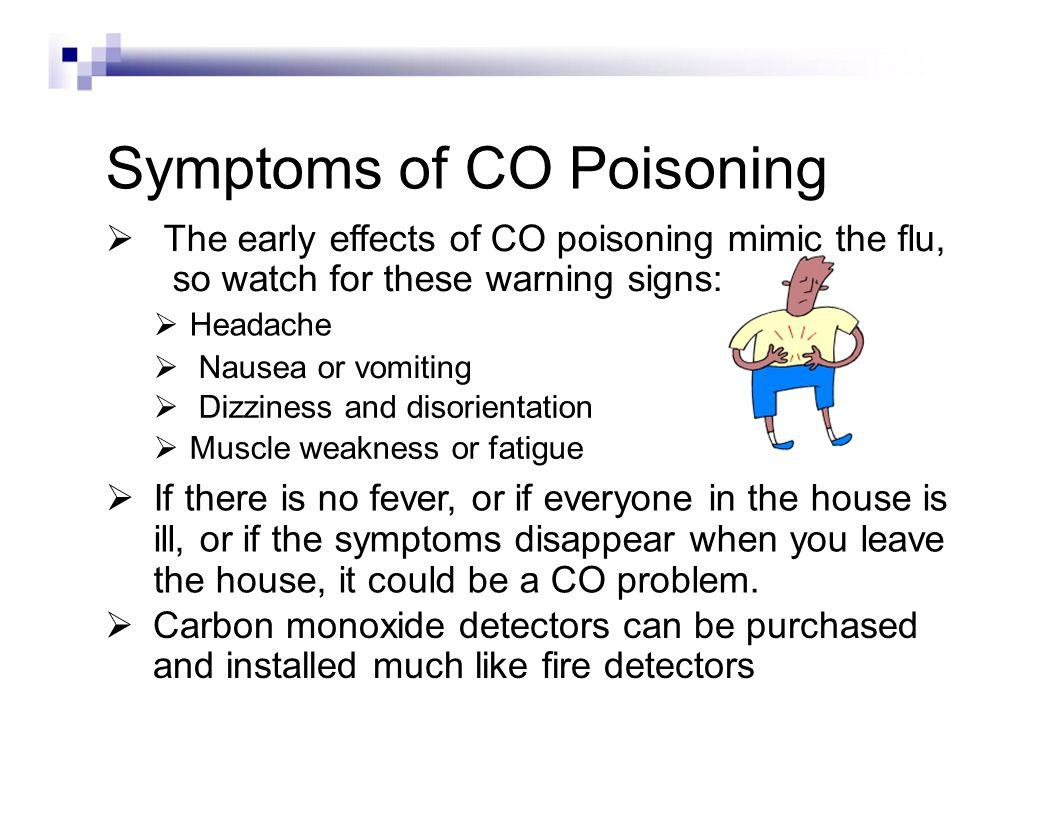 If you suspect carbon monoxide is in your dorm room or building: Leave the premises immediately Call University Police 475-5711