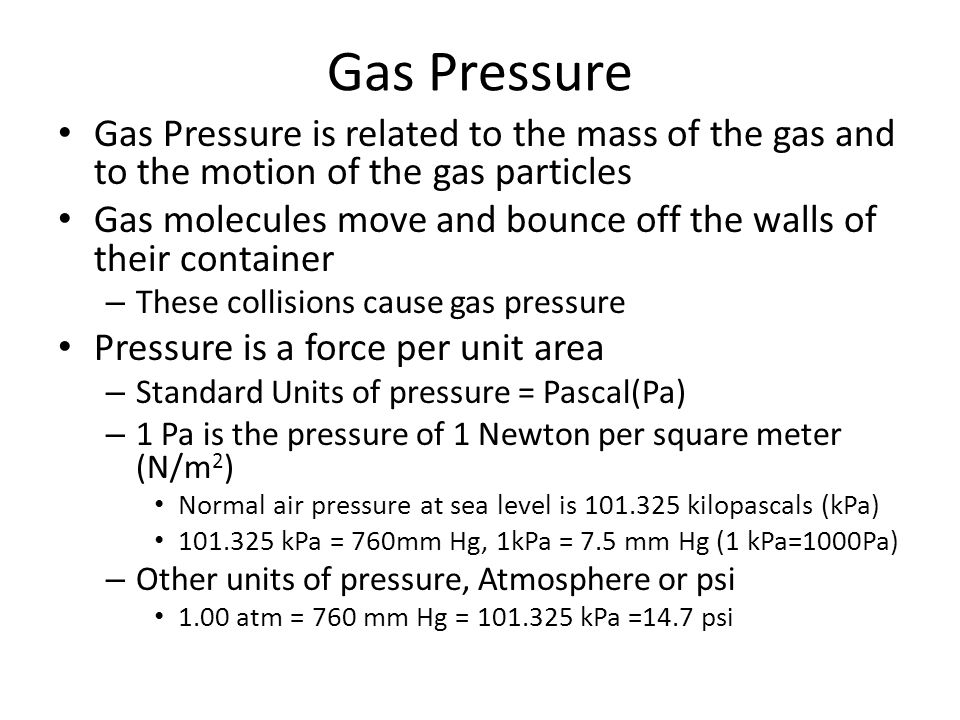 Gas Laws Example 2 2.A flask has a volume of 258 mL.