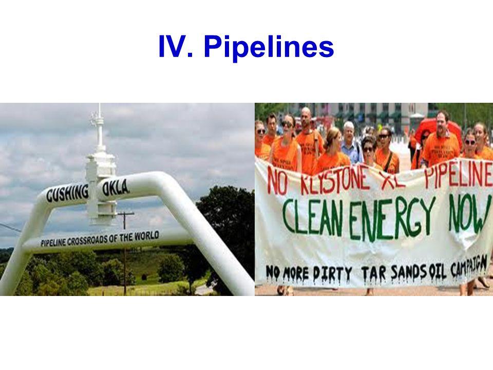 IV. Pipelines