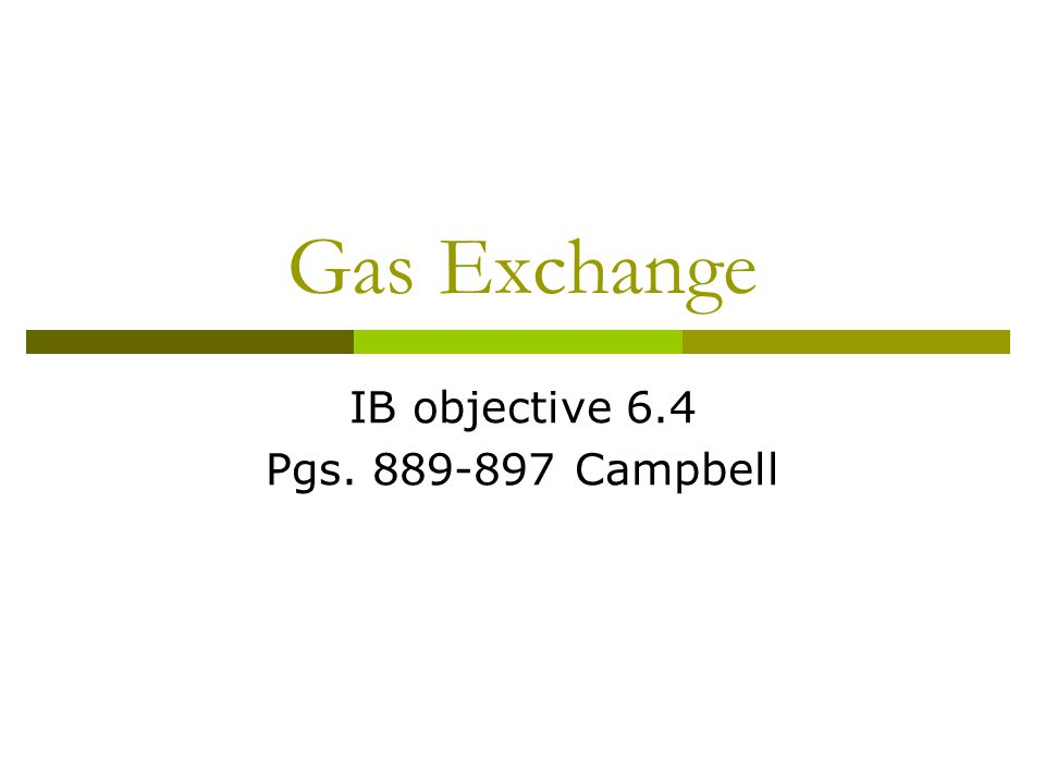 Gaseous exchange in animals Gaseous exchange is the exchange of gases between an organism and its surroundings Intake of oxygen and release of carbon dioxide This exchange takes place by diffusion Three factors determine the rate: 1.