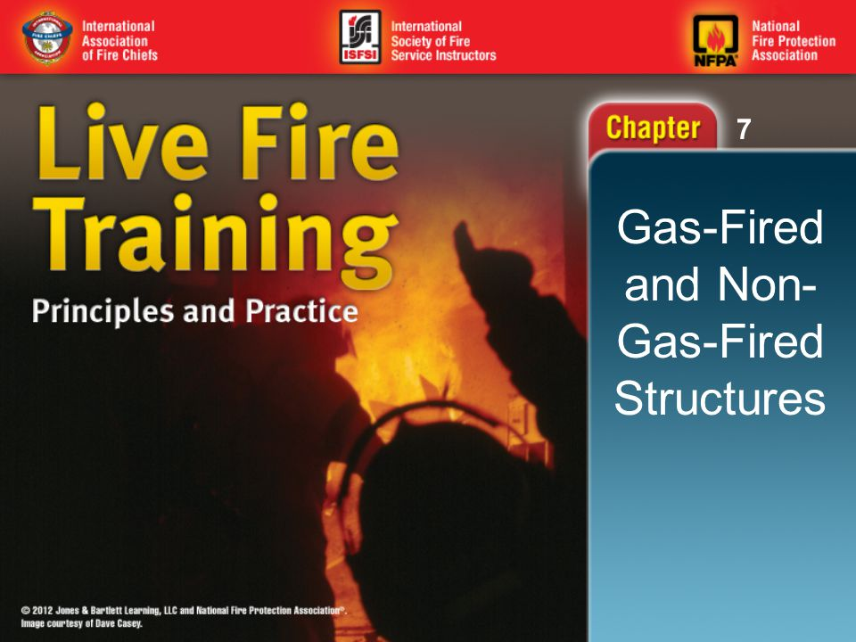 7 Knowledge Objectives (1 of 5) Identify the codes, standards, and guidelines to consult when building a permanent live fire training structure.