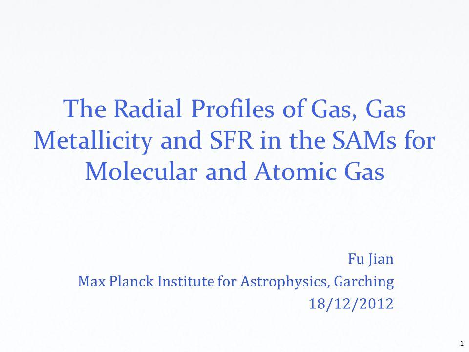 Fu Jian Max Planck Institute for Astrophysics, Garching 18/12/2012 1