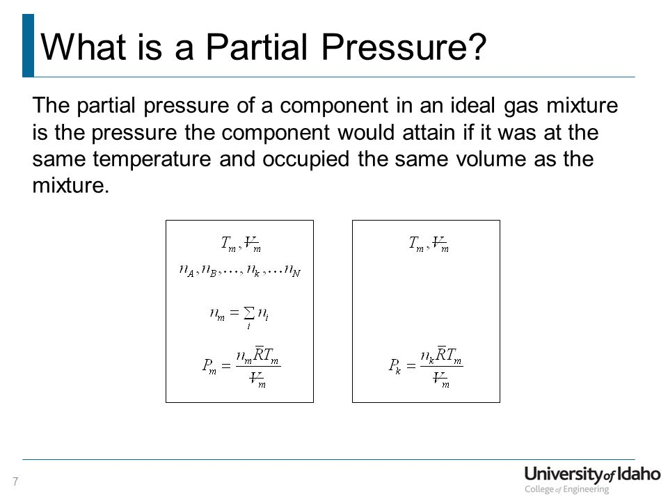 What is a Partial Pressure.