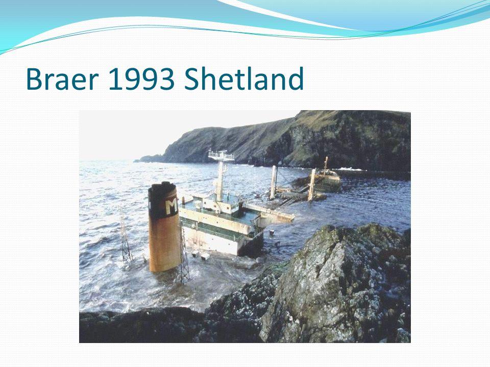Braer 1993 Shetland
