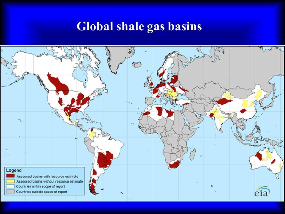 Global shale gas basins