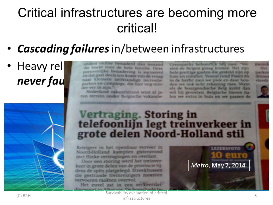 Critical infrastructures are becoming more critical.