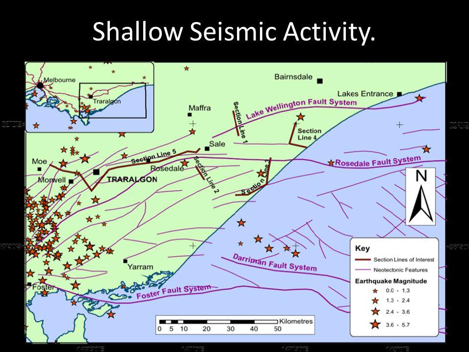 Shallow Seismic Activity.