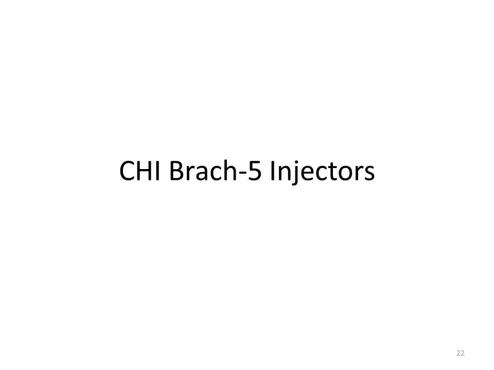 CHI Brach-5 Injectors 22