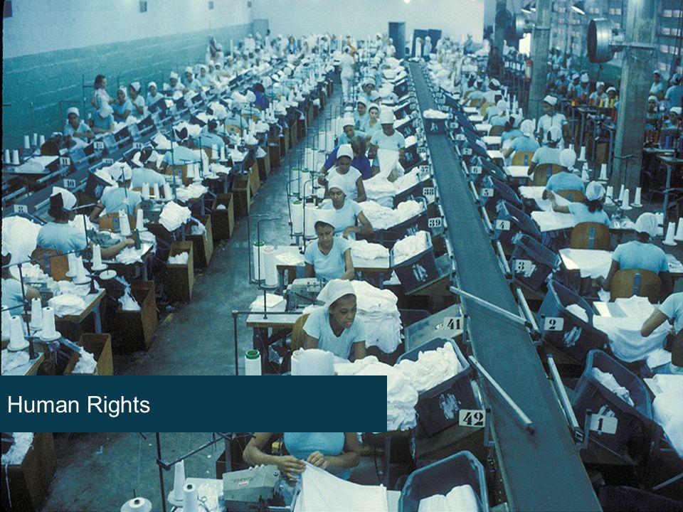 GUTE GRÜNDE FÜR NACHHALTIGKEIT Eine einfache Weisheit Human Rights
