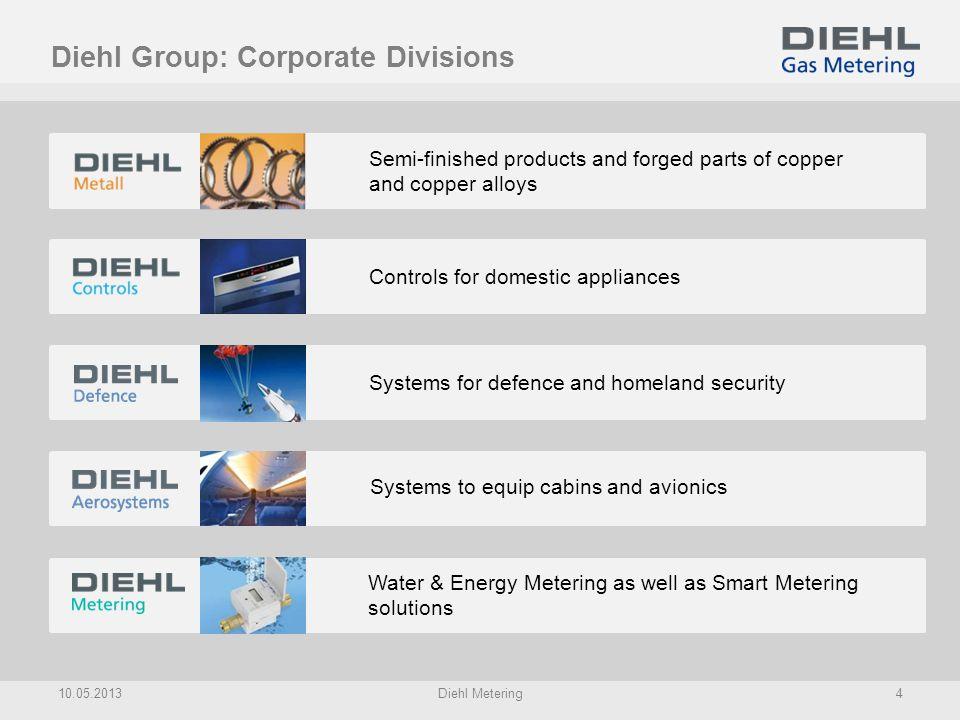 Corporate Division: Diehl Metering 10.05.2013Diehl Metering5