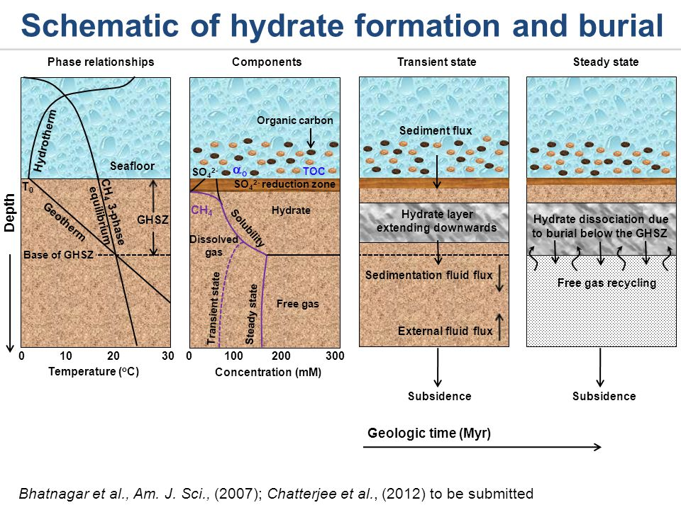 Generalized model to quantify amount and distribution of gas hydrates 45 Pe 1 Bhatnagar et al., Am.