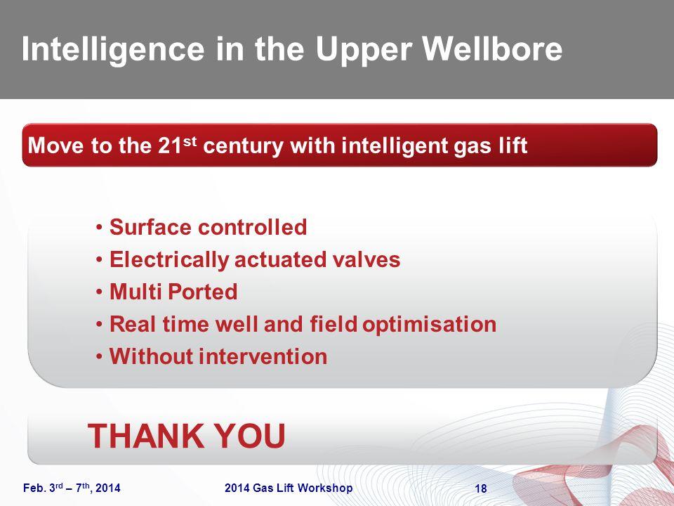 Intelligence in the Upper Wellbore Feb.