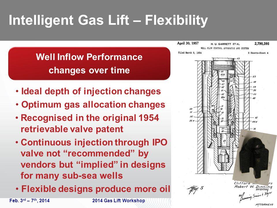 Intelligent Gas Lift – Flexibility Feb.