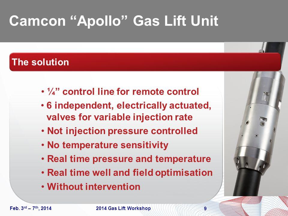 Camcon Apollo Gas Lift Unit Feb.