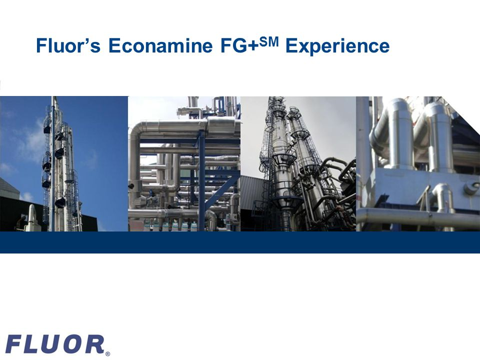 Fluors Econamine FG+ SM Experience