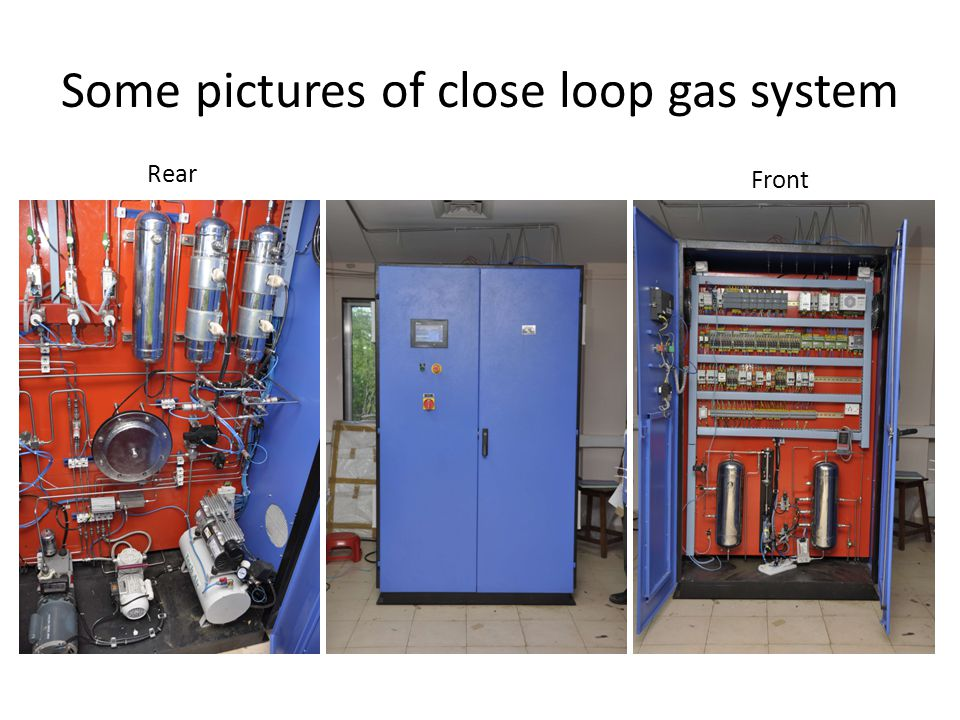 Some pictures of close loop gas system Rear Front