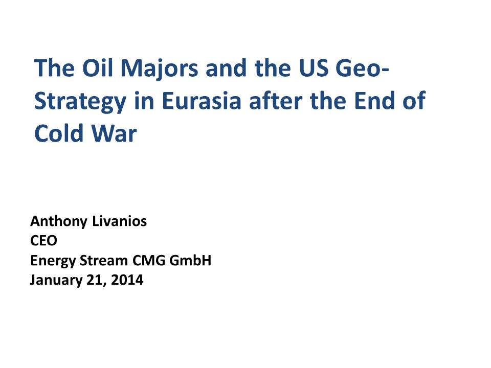 Azerbaijan and the US Geostrategy: The Baku Tbilisi Ceyhan Oil Pipeline: the 1990s 32