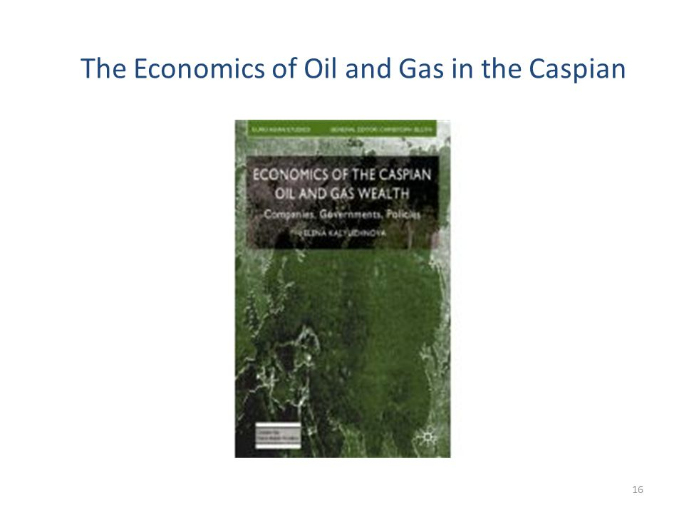 The Economics of Oil and Gas in the Caspian 16