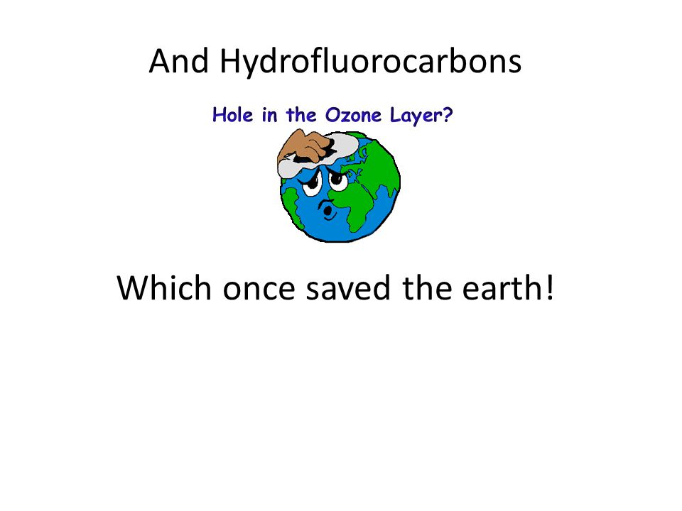 Some greenhouse gases are not naturally occurring – they are manmade Sulfur Hexafluoride Carbon tetrafluoride Hexafluoroethane