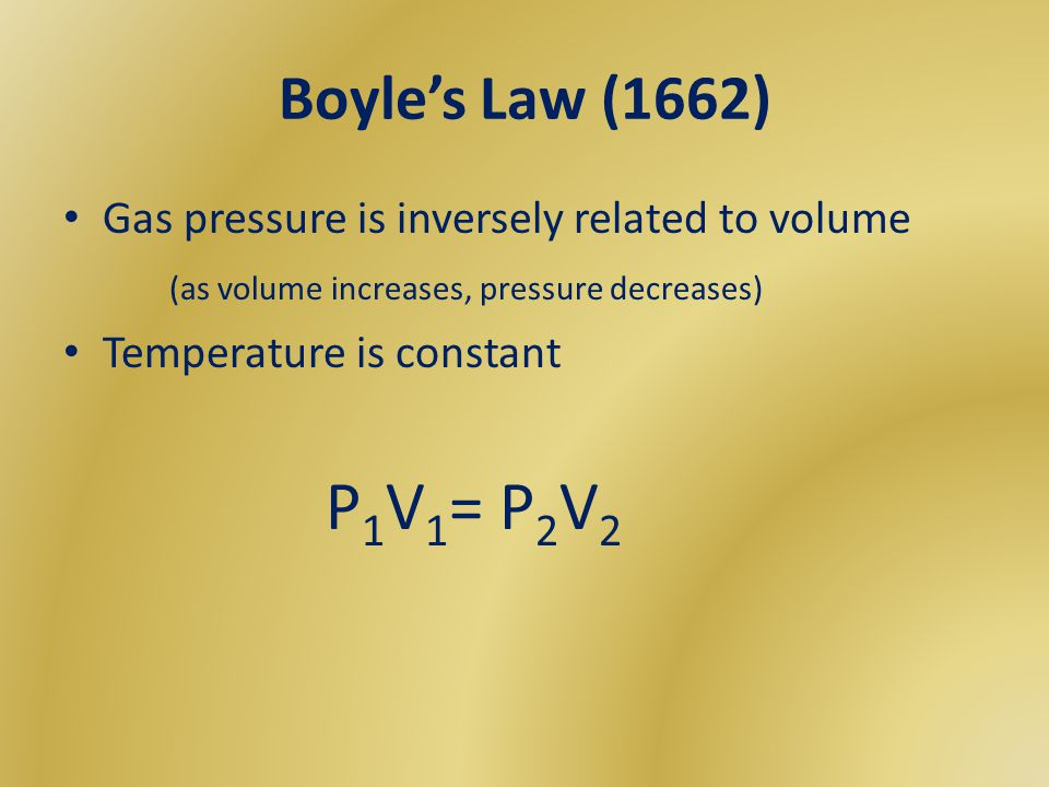 Daltons Law of Partial Pressures Used for mixture of gases in a container If you know the P exerted by each gas in a mixture, you can calculate the total gas pressure It is particularly useful in calculating pressure of gases collected over water.