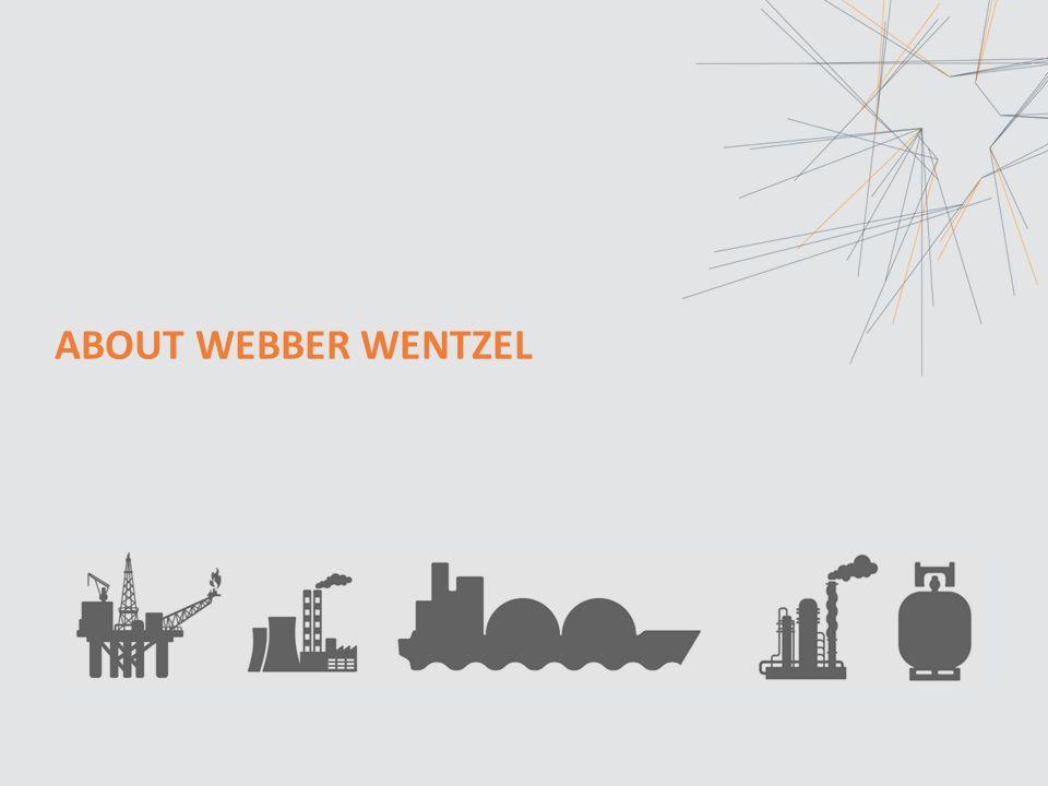 ABOUT WEBBER WENTZEL