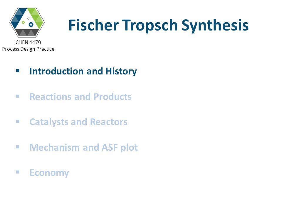 CHEN 4470 Process Design Practice FTS Mechanisms – The Alkenyl Mechanism 1i).