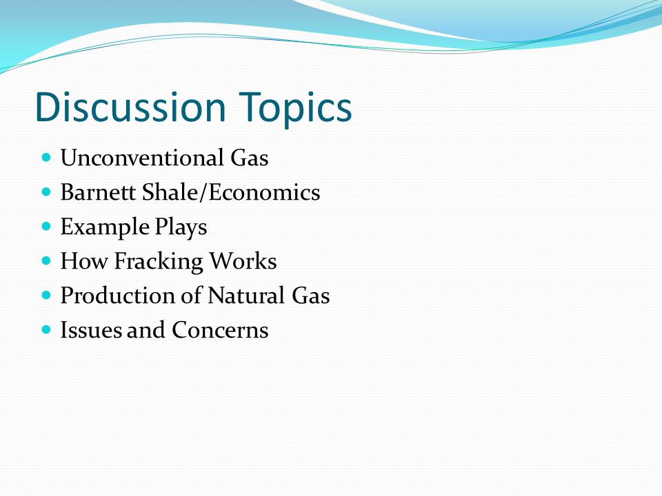 What is Unconventional Gas.