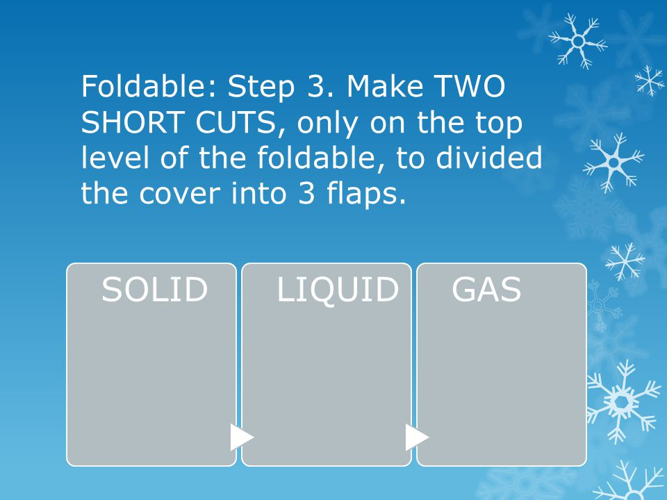 Foldable: Step 3.