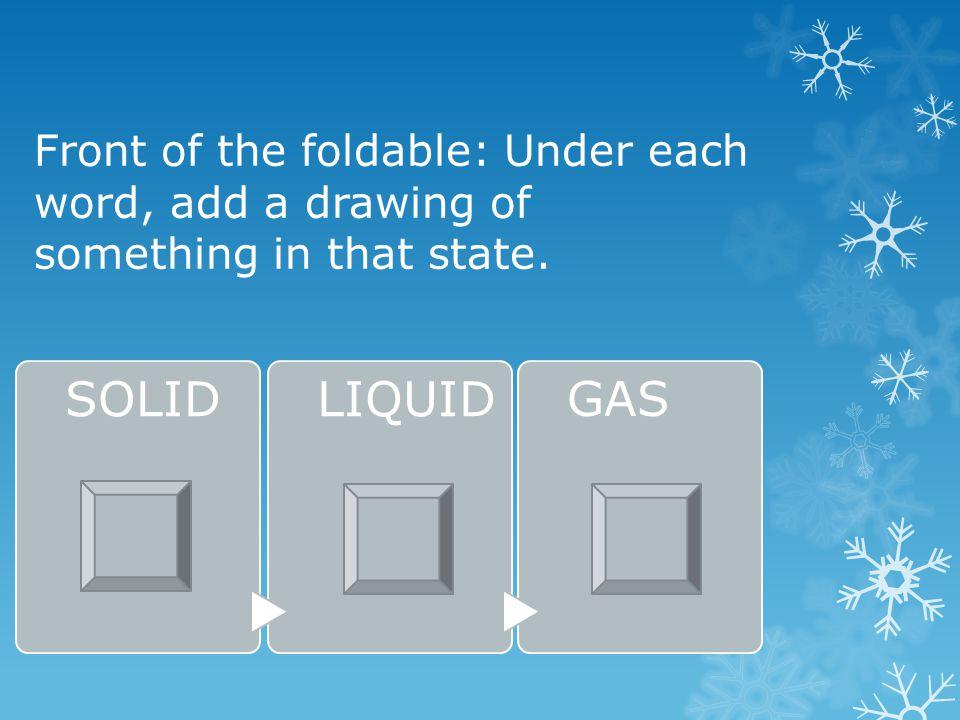 Research online: solids, liquids, gases.