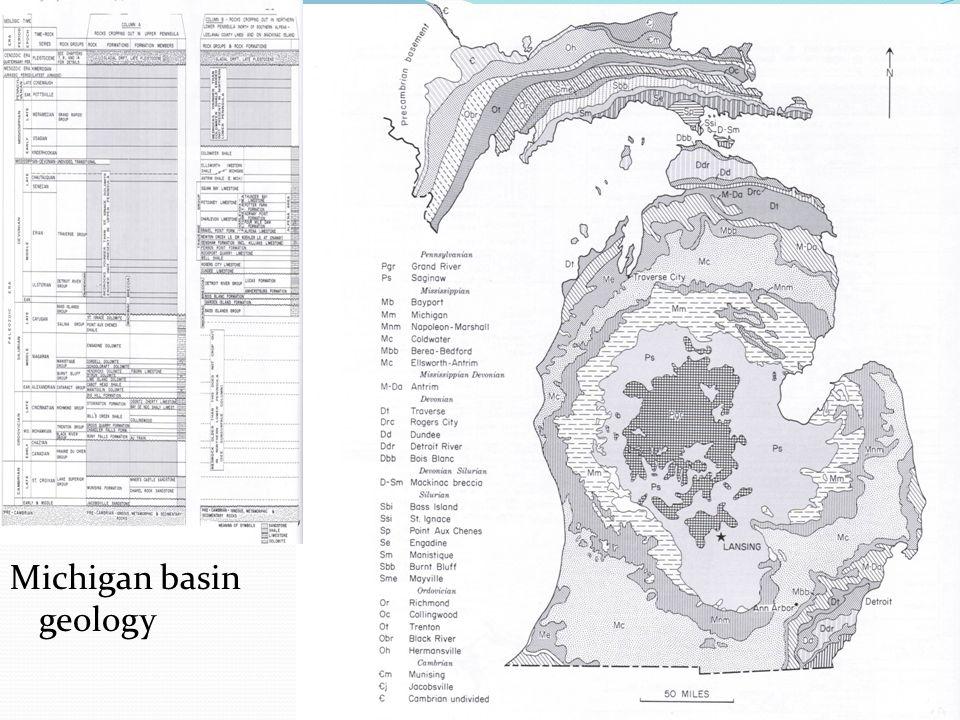 Michigan basin geology
