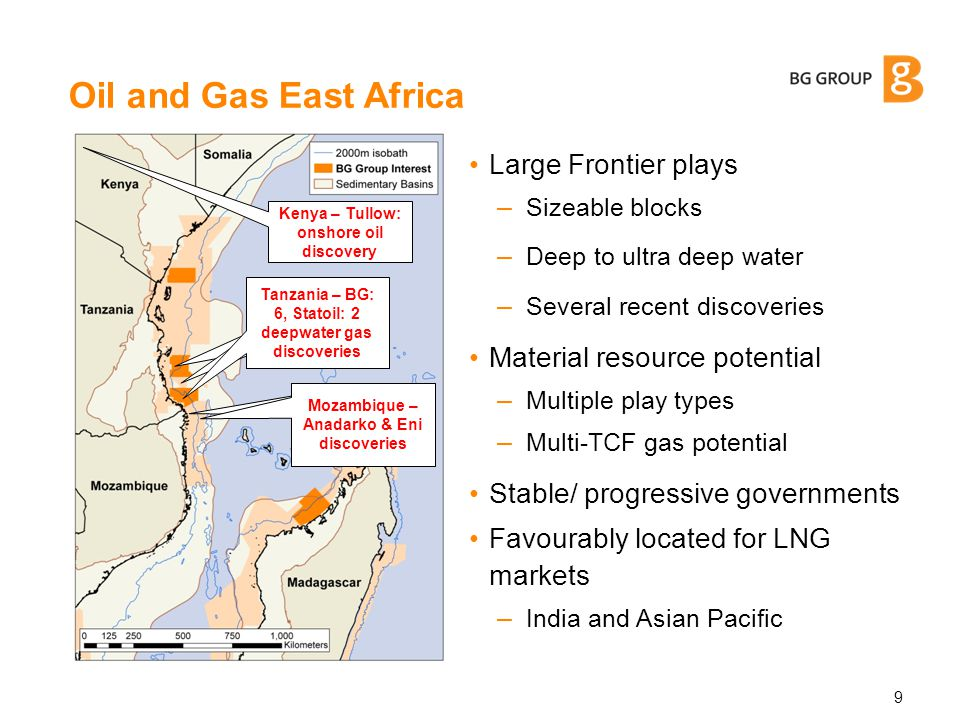 Agenda 10 1 Offshore East Africa – upstream overview 2 Tanzania – success so far 3 Doing business in Tanzania (and wider East Africa) 4 BG Group & Global LNG