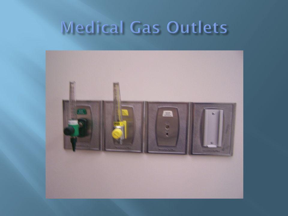 Oxygen Vacuum Medical Air