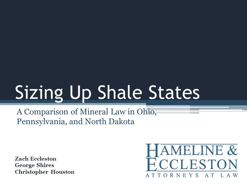 Shale Plays in the United States