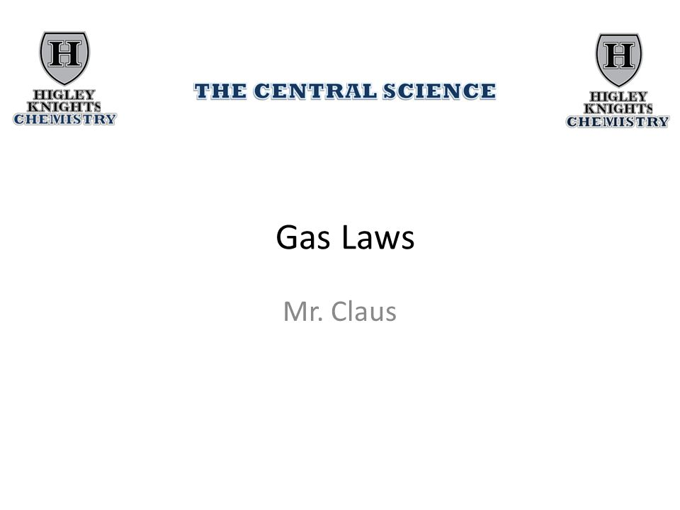 Demonstration of Gas Laws Animation of the Kinetic-Molecular Theory and the Gas Laws