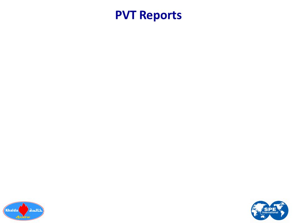 PVT Reports