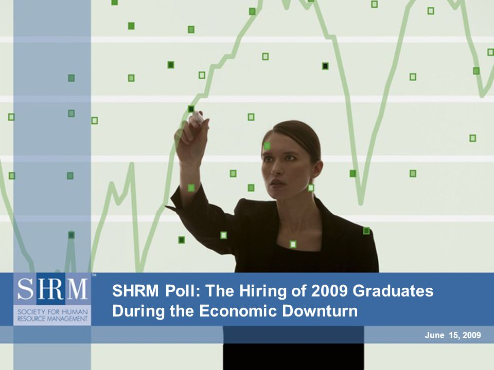 June 15, 2009 SHRM Poll: The Hiring of 2009 Graduates During the Economic Downturn