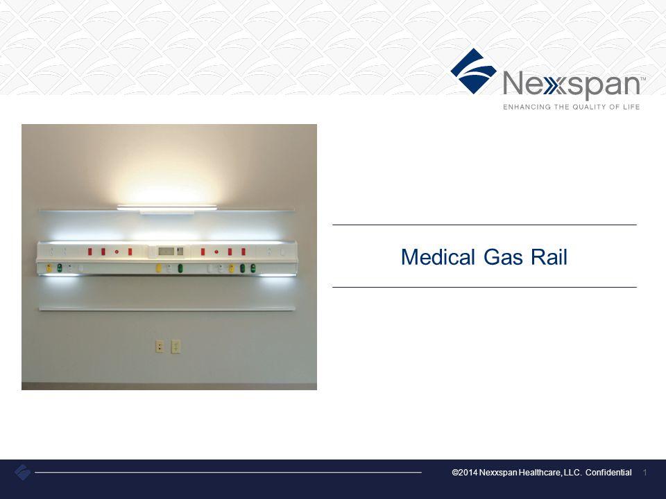 ©2014 Nexxspan Healthcare, LLC. Confidential 1 Medical Gas Rail