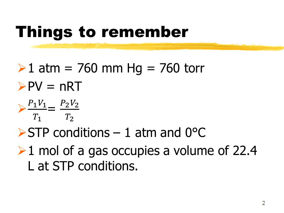 Things to remember 2