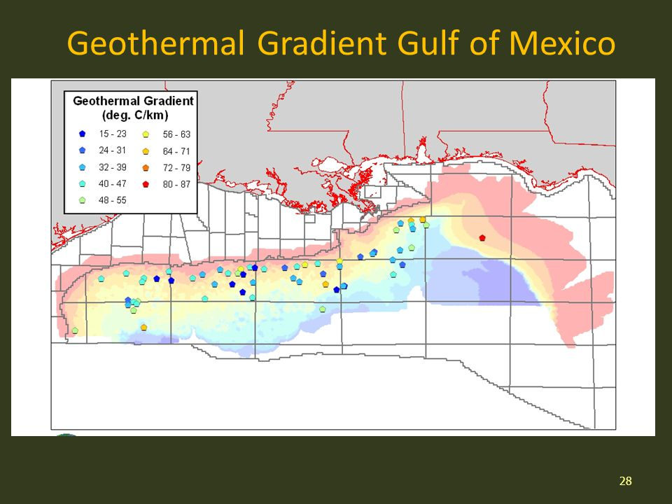 Geothermal Gradient Gulf of Mexico 28