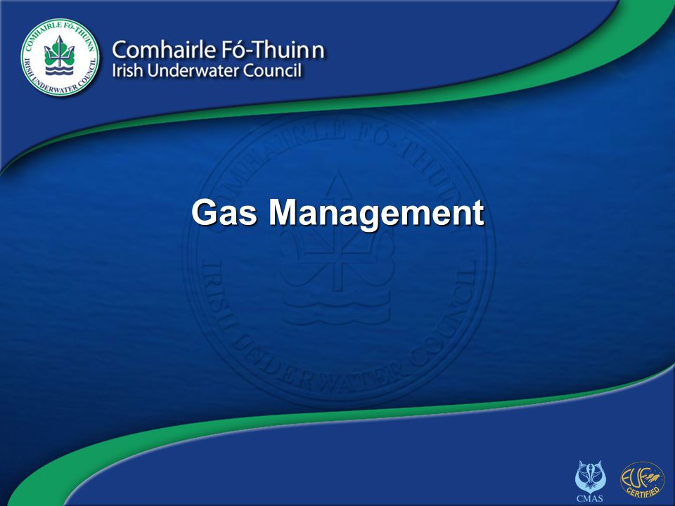 Copyright 2012 CFT GAS/1 Gas Management